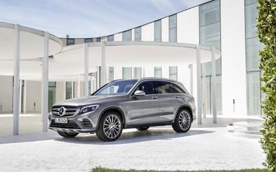 Hranaté GLK je minulosťou, privítajte nový Mercedes-Benz GLC s ladnými krivkami!