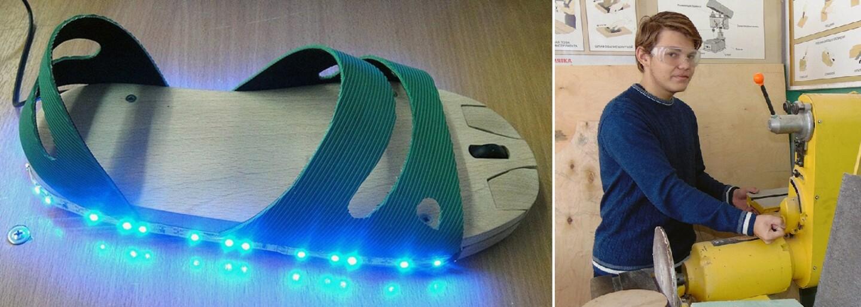 Hranie hier pomocou nohy? Šikovný stredoškolák z Ruska vyrobil počítačovú myšku pre ľudí bez rúk