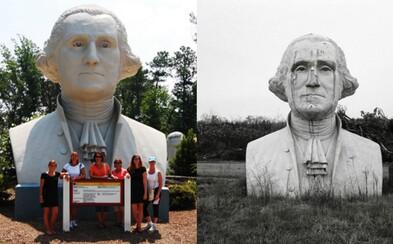 Hřbitov amerických prezidentů. I tak se dá nazvat odkladiště bust v nadživotní velikosti