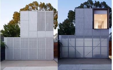 Hrejivý minimalizmus na nehnuteľnosti, ktorá spája betón, oceľ a priestrannosť. Predmestie Melbourne privítalo ďalšiu nezvyčajnú stavbu