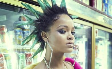 Hriešna Rihanna búra pravidlá normálnosti na najnovších záberoch pre PAPER Magazine