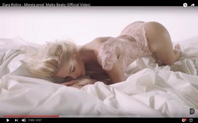 Hriešne sexy Dara Rolins sa predvádza v najnovšom videoklipe