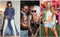Hříšné modelky, úspěšní rapeři či odhalené poprsí Amber Rose nechyběli na pokračování rozpálené Coachelly