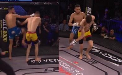 Hrozivé zranenie z MMA, ktoré nie je pre slabšie povahy. Ruka bojovníka sa po tvrdých úderov zlomila a vytočila do nesprávnej strany