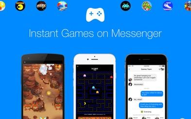 Hru PAC-MAN si zahráme už aj v aplikácii Facebook Messenger. Aktualizácia prináša novinku Instant Games
