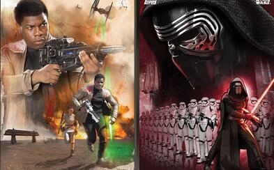 Hŕstka nových Star Wars obrázkov a plagátov odhaľuje svetlú a temnú stranu sily