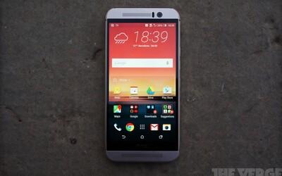 HTC One M9: Výkonný smartphone se skvělým fotoaparátem a Dolby Surround zvukem
