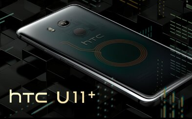 HTC vytiahlo ťažký kaliber. Priesvitné telo novej mašiny U11+ reaguje na stisk našich dlaní