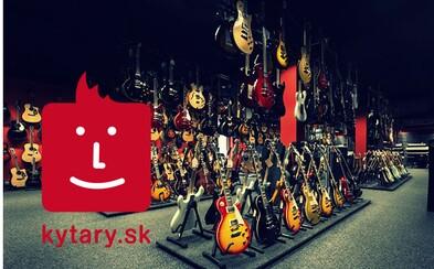 Hudobný obchod Kytary.sk prichádza na Slovensko. Projekt, ktorý začal v kočikárni, ponúka hudobníkom nekonečné možnosti