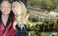 Hugh Hefner nabízí Playboy vilu na prodej za 200 milionů dolarů. Chce v ní však zůstat až do smrti