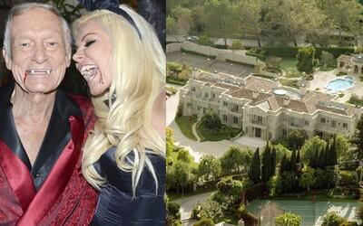 Hugh Hefner ponúka Playboy vilu na predaj za 200 miliónov dolárov. Chce v nej však zostať až do smrti