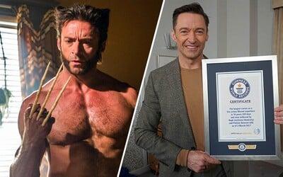 Hugh Jackman ako Wolverine a Patrick Stewart ako Profesor X sa spoločne zapísali do Guinessovej knihy rekordov