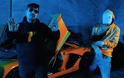 Hugo Toxxx a James Cole dissují toye v novém klipu na hidden track NAUTSHIT z alba 1000