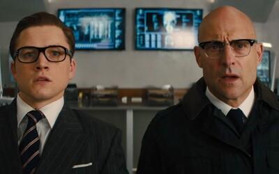 Hvězdy Hollywoodu září v šíleném traileru pro pokračování geniálního špionského filmu Kingsman