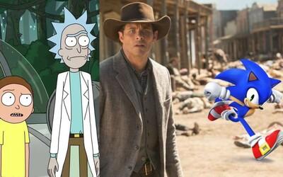 Hviezda Westworldu si zahrá vo filme o Sonicovi a tvorca seriálu Rick a Morty prezradil, prečo trvalo ohlásenie ďalších epizód tak dlho