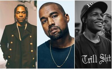 Hviezdna kolaborácia. Na Pusha T-ho tracku s beatom od J. Colea sa stretol Kanye West a A$AP Rocky