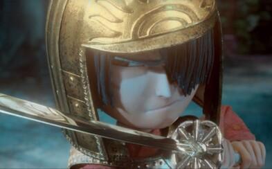 Hviezdne obsadený animák s netradičným vizuálom bude dojemným a akčným samurajským dobrodružstvom