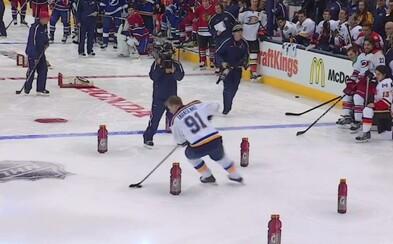 Hvězdy NHL předvedly své hokejové umění v soutěži dovedností