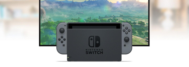 Hybridní konzole Nintendo Switch má 6,2palcový HD dotykový displej. Jaká je cena a kdy dorazí do obchodů?
