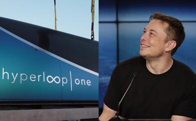 Hyperloop od Elona Muska prichádza do Európy. Do dvoch rokov by mal byť aj na Slovensku