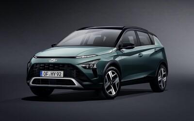 Hyundai ukázal svoj ďalší malý crossover. Úplne nový Bayon chce zaujať dizajnom a technológiami
