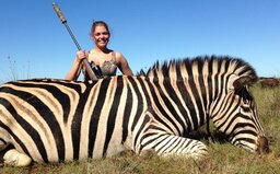 I když jsi vegetarián, umírají kvůli tobě zvířata, říká lovkyně Michaela Fialová