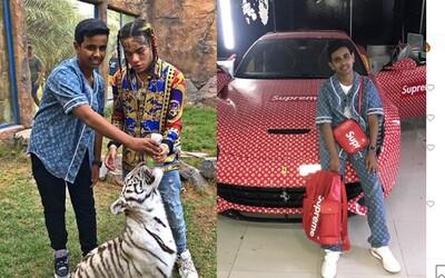 Iba 16-ročný miliardársky synáčik z Dubaja vlastní kolekciu topánok za 1 milión. Chce, aby Tekashiho 6ix9ine oslobodili