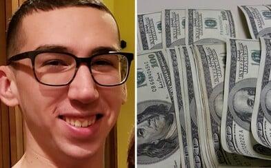 Dvacetiletý mladík spáchal sebevraždu kvůli minusovému zůstatku 17 milionů, který způsobil obchodováním na burze