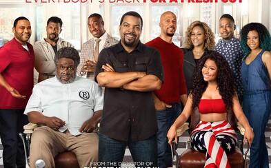 Ice Cube, Nicki Minaj a mnohí ďalší vtipkujú v zábavnom traileri pre komédiu Barbershop 3