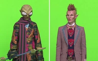 Ich modelmi sa po novom stali mimozemšťania. Gucci na fotenie svojich produktov povolalo posily z cudzích planét