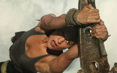 Ide do tuhého! Krásna Alicia Vikander to ako Lara Croft nemala pri natáčaní zjavne vôbec ľahké