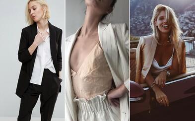 Ideálna voľba do chladnejších večerov, ale tiež ženská elegancia v jej najčistejšej podobe. Vyskúšaj to so sakom!