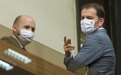 Igor Matovič a Jaroslav Naď už nie sú v karanténe. Obaja mali negatívny test na koronavírus