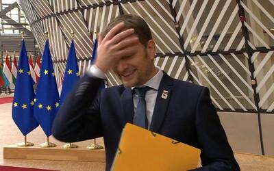 Igor Matovič: Na samite niekedy vystúpim po slovensky, niekedy po anglicky, podľa toho, ako mi napadne. Tlmočníka nepotrebujem