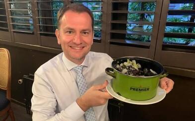 Igor Matovič: Nebojte, raz sa zase dožijete svojho premiérka, ktorý vás bude s jamôčkami v líčkach okrádať o miliardy