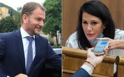 Igor Matovič odkázal poslankyni SaS Jane Cigánikovej, že má byť rada, že ju mama nepotratila. Ako poslankyňa SaS reaguje?