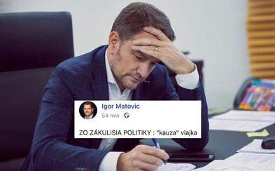 Igor Matovič po tom, čo si pomýlil vlajku Maďarska a Tadžikistanu: Smejte sa na obmedzenosti iných