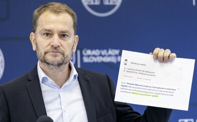 Igor Matovič pred zasadnutím krízového štábu: Dnes budem poslom zlých správ
