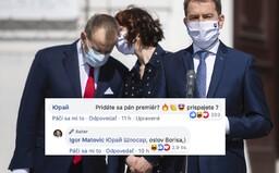 Igor Matovič si uťahuje z Borisa Kollára. O 9 mesiacov budú podľa premiéra plné pôrodnice, zaslúži sa o to aj šéf Sme rodina