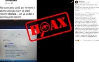Igor Matovič vraj vedel o pandémii koronavírusu už pred rokom. Facebookom sa šíri ďalší lacný hoax