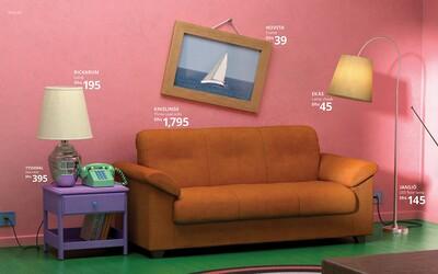 IKEA bude prodávat nábytek imitující ikonické seriály. Zařiď si pokoj jako ze Simpsonových, Přátel nebo Stranger Things
