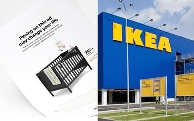 IKEA chce, aby si ich reklamný katalóg jednoducho pomočil. Nevábna tekutina po čase odhalí tajnú správu