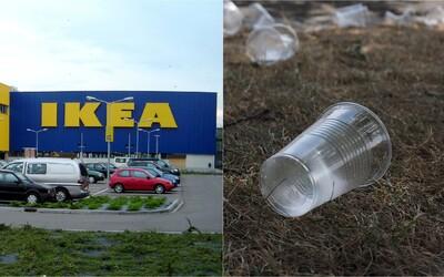 IKEA do dvoch rokov ukončí predaj plastu na jedno použitie vo všetkých svojich predajniach