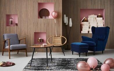 Ikea oznamuje návrat do 50. a 60. rokov vďaka novej retro kolekcii. Má v pláne obnoviť ikonický nábytok z dávnej ponuky