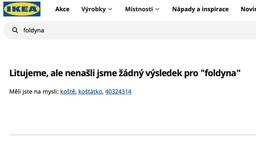 """Ikea po vyhledání výrazu """"foldyna"""" nabízí koště. Děje se tak po slovní výměně Novotného s Foldynou"""