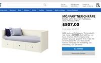IKEA přejmenovala své produkty, kterými dokáže vyřešit různé vztahové problémy. Pokud tvůj partner chrápe, kup mu vlastní postel