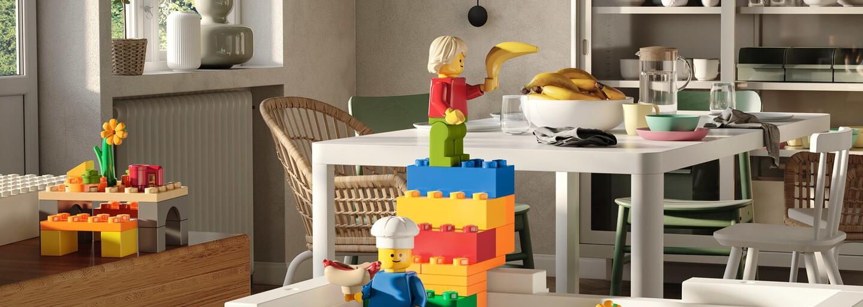 IKEA spája sily s Legom a vydáva úložné boxy, ktoré naučia deti poriadku zábavnou formou