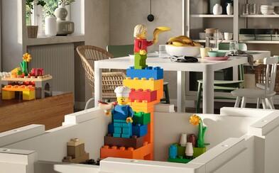 IKEA spojuje síly s Legem a vydává úložné boxy, které naučí děti pořádku zábavnou formou