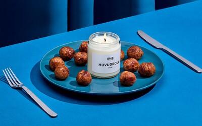 Ikea vyrobila sviečku s vôňou obľúbených mäsových guľôčok
