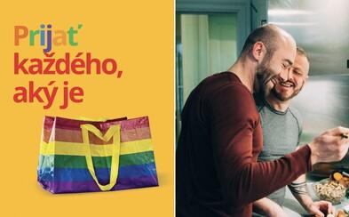 Ikea začala na Slovensku predávať dúhovú verziu svojej ikonickej tašky. Hlási sa tak k podpore LGBTI+ komunity